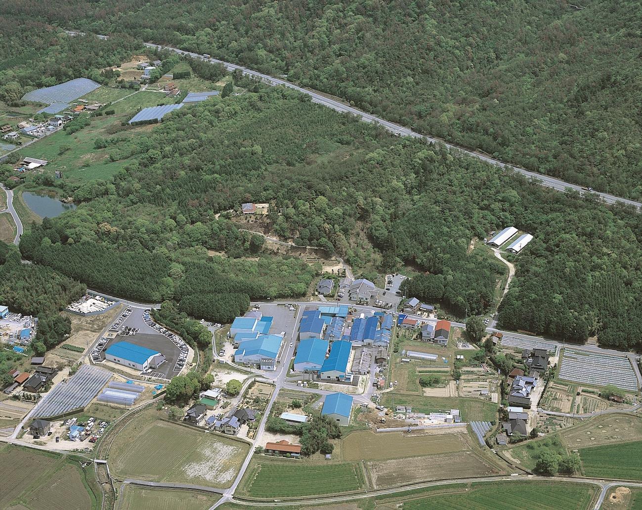 秋川牧園航空写真